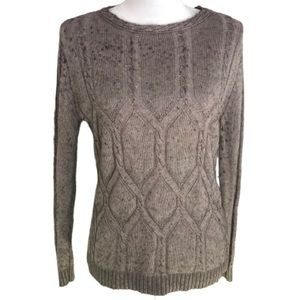 Beyond & Beautiful Cotton/Angora Sweater